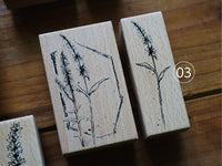 Lihao Paper / Original Rubber Stamp - Chapter of Flower Stamp Set (03)