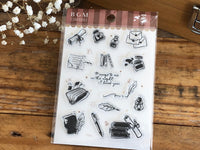 BGM Clear Stamps - Letter