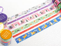 Japanese Washi Masking Tape Set of 3 / Traditional Japanese Arts