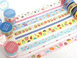 Japanese Washi Masking Tape Set of 3 / Japanese Meals