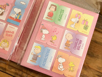 Snoopy Booklet Style Die-Cut One Point Sticker / Index / Bookmark / Sticky Memo