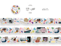 OURS Watercolor PET Tape / Disconsonant
