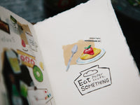 OURS Watercolor PET Tape / Eat Something
