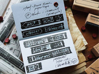Lihao Paper / Hand Sketch Frame Washi Tapes