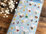Snoopy Sheet of Stickers / Japanese Style Series-Festival