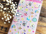 Snoopy Sheet of Stickers / Japanese Style Series-Japanese Candies