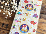 Snoopy Sheet of Stickers / Japanese Style Series-Happy New Year
