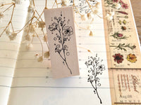 Nonnlala Original Rubber Stamp - Botanical D