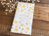 "Furukawa Mino Paper ""Today's Letter"" Letter Set - Yellow Flower"