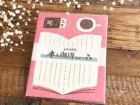 Furukawa Mino Paper Letter Set - Coffee and Book