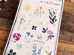 Tamura Miki Masking Sheet of Sticker / Wild Flower