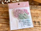 Q-Lia Poche Bouquet Stickers / Seal bits - Misty Pink