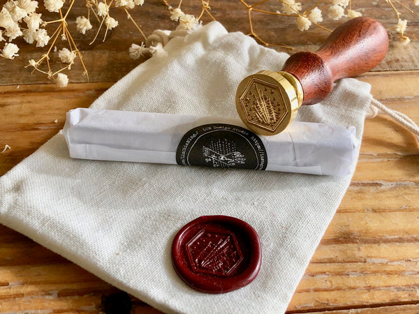 Lin Chia Ning / Wax Seal Stamp set - Woods