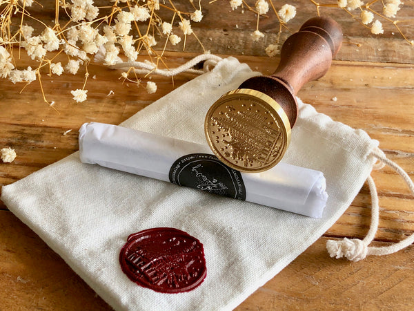 Lin Chia Ning / Wax Seal Stamp set - Forest