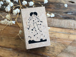 Japanese Wooden Stamp - Stardust
