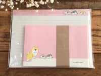 Shibanban Die-Cut Letter Set / Writing Paper Card with Envelopes