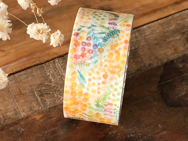 Japanese Washi Masking Tapes - Mimosa Tree