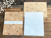 Aizugata Japanese Mini Letter Set / Writing Paper with Envelope