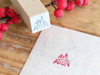 Beautiful Japanese design rubber stamp- Origami Crane