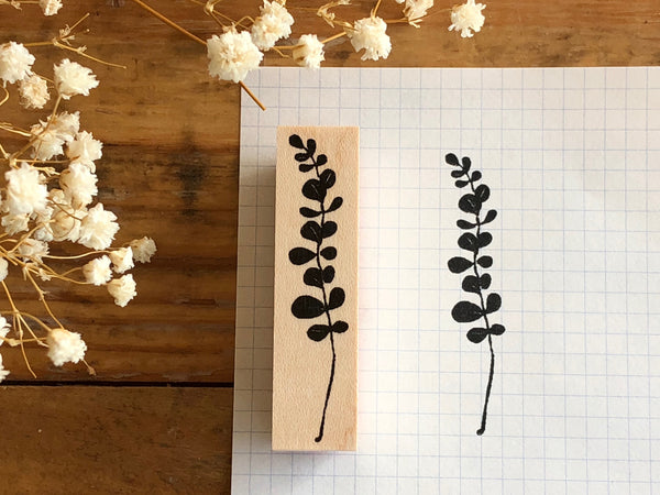 Kubominoki Original Botanical Rubber Stamp - Eucalyptus