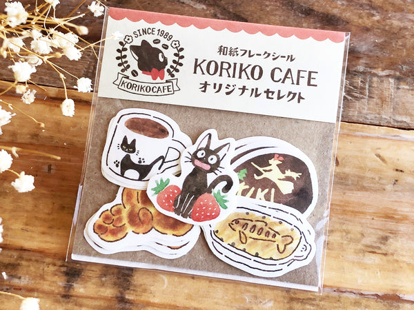 Flake Stickers - Kiki's Delivery