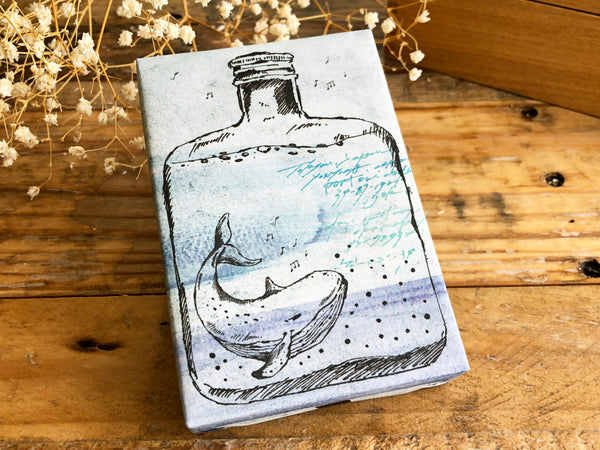 Lihao Paper Original Rubber Stamp - Bottle World / Accompanying