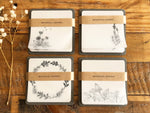 Botanical Glassine Paper Sticky Notes