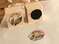 Nonnlala Original Botanical Rubber Stamp Set - Lily of the Valley