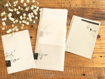YOHAKU Original Collage Craft / Writing Paper Set - 2 designs 30 sheets total