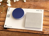 Die-cut Sticky Index Tabs / One Point Sticker - Blue Circle & Gray Square