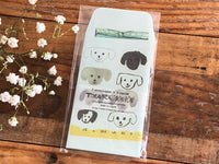 Classiky Toranekobonbon Note Card & Envelope Set - Dog (M)