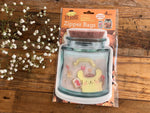 Clear Jar Zipper Bag- Pompompurin (L)