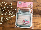 Clear Jar Zipper Bag- My Melody (L)
