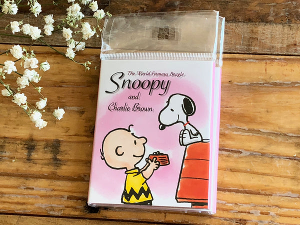 Snoopy Collection Die-Cut One Point Sticker / Index / Bookmark / Sticky Memo