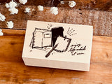 Nonnlala Original Rubber Stamp - Stationery
