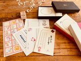 High Quality LetterPress Message Card Sets, 60 cards per box
