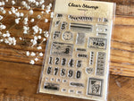 Papier Platz x Sunny Sunday Clear Stamps-Tools