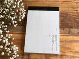 YOHAKU Original Collage Craft / Writing Paper / Notepad - 01 Kraft