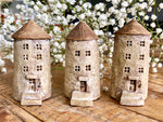 "Lovely one-of-a- kind handmade clay house from ""Casetta"" - Tower"
