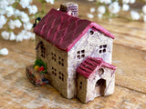 "Lovely one-of-a- kind handmade clay house from ""Casetta"" - Redroof Cafe"