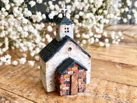 "Lovely one-of-a- kind handmade clay house from ""Casetta"" - Church"