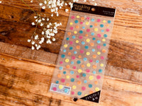 Sheet of Masking Stickers - Circles, Squares, or Triangles