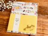 Shibanban Letter Set / Writing Papers with Envelopes
