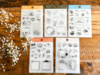 BGM Clear Stamps - Vintage Flowers