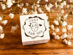 Masco Eri-Japanese Wooden Rubber Stamp - Just For You