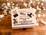 Nonnlala Original Rubber Stamp - 3/6 Clip