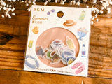 Japanese Washi Masking Stickers / Seal bits - Summer