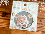 Japanese Washi Masking Stickers / Seal bits - Flowers