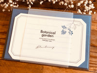High Quality Botanical Garden Letter Set - Blueberry