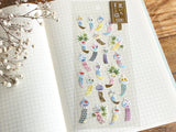 Clear Schedule Sheet of Stickers / Totoro